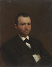 portrait of a gentleman by konstantin egorovich makovsky