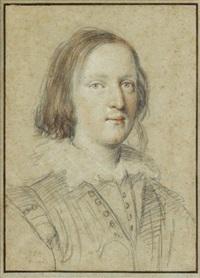 head of a young man by ottavio maria leoni