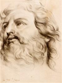 cabeza de apóstol by d. francisco bayeu y subias