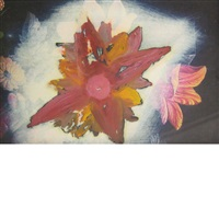 flower study by ross bleckner