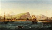 view of the treaty port on the island of formosa, taiwan by joseph w. pierce