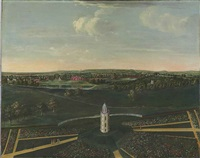 view of dogmersfield park, hampshire by balthasar nebot