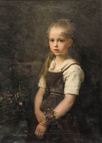 flower girl by albert raudnitz