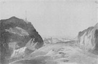 dumbarton castle by henrietta anne fortescue