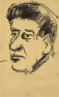 autoportrait by oscar domínguez