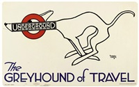 the greyhound of travel by alfred leete