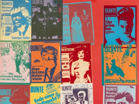 Magazine And History By Andy Warhol On Artnet