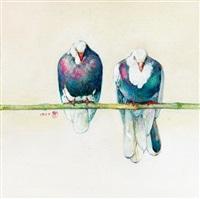 鴿 (pigeon) by huang mingzhe
