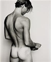 renaud/gucci underwear #2 by mario testino