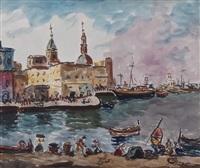 lavori lungo il canale by marcello scarano