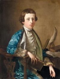 portrait of a boy (john wolffe?) by giles hussey