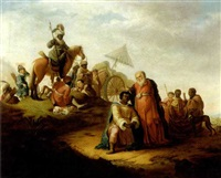 the baptism of the eunuch by pieter lastman