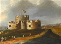 sandown castle, deal by peter tillemans
