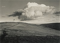 a group of seven landscapes (7 works) by fay godwin
