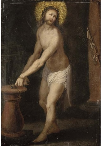christ at the column by hieronymus francken the younger