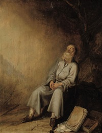 jeremiah mourning the destruction of jerusalem by paulus lesire
