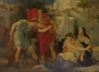 narcisse et messaline dans les jardins de lucullus by noel saunier