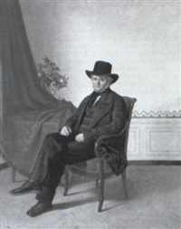 portrait de monsieur jutteau by alexandre antigna