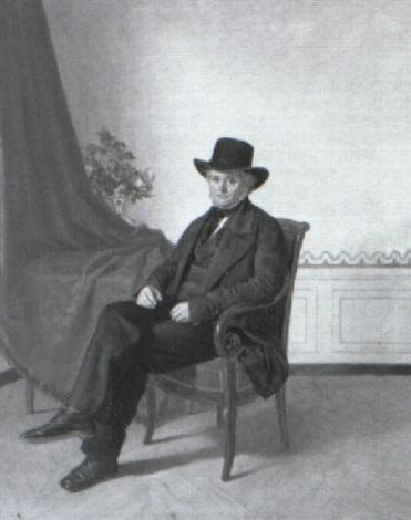 portrait de monsieur jutteau by alexandre antigna