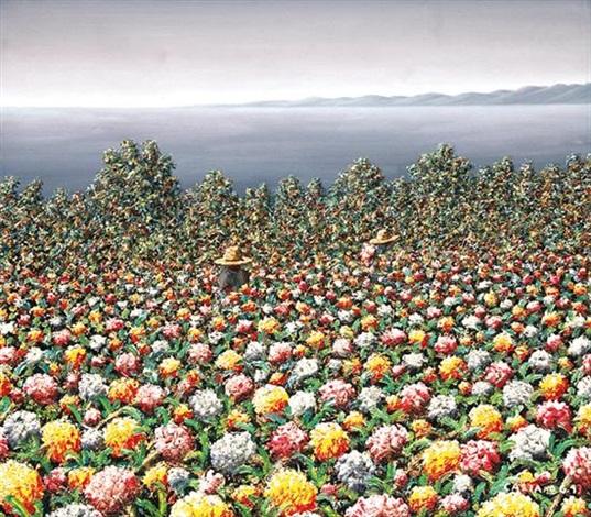 Jardín de flores by Casiano García Jarquin on artnet