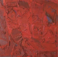 fuschia and geranium composition by bernat klein