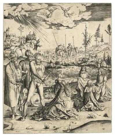 the martyrdom of saint catherine by matthaus zasinger