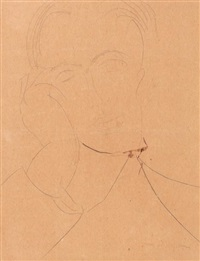 portrait d'homme by amedeo modigliani