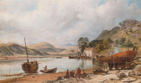 shipbuilding at penmaepool merioneth by charles tattershall dodd the elder