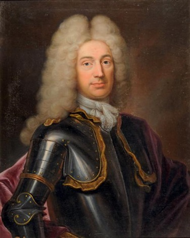 portrait dhomme en cuirasse by hyacinthe rigaud