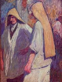 deux paysans by henri etienne-martin