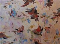 landscape with birds by david aspden