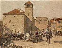 südlicher marktplatz by johann nepomuk geller
