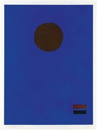 blue night by adolph gottlieb