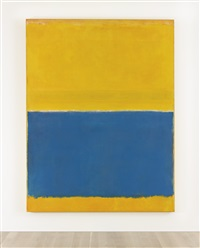 untitled (yellow and blue) by mark rothko