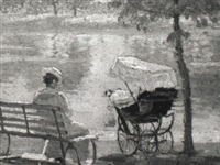 summer morning, datchet by alice maud fanner