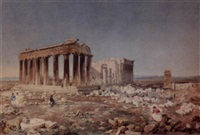 the acropolis, athens by william henry freeman