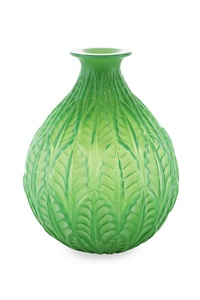 malesherbes vase by rené lalique