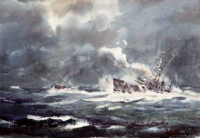 batalla naval by salvador gutiérrez de la concha