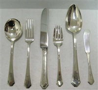 flatware set in lady mary pattern (set of 63) by towle silver