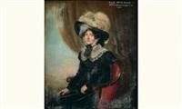 portrait de la comtesse de paar by jan baptist van der hulst