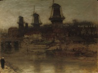 the four mills by matthijs maris