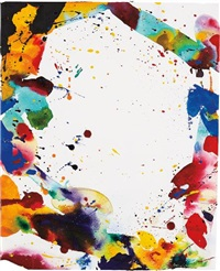 untitled sf68-127 by sam francis