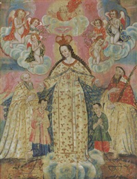 the madonna of mercy by peruvian school-cuzco (19)