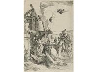 the adoration of the magi (from scherzi di fantasia) by giovanni battista tiepolo