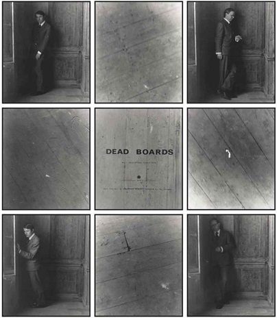 dead boards no 11 in 9 parts by gilbert george