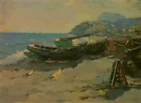 la plage d'aiondag by nicolay andretsov