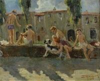 ragazzi sul fiume by ovidio gragnoli