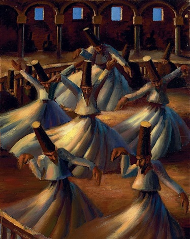 the whirling dervishes by mahmoud said