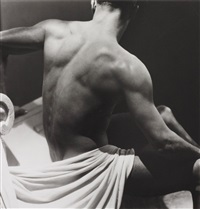 male nude (backside) by george hoyningen-huene
