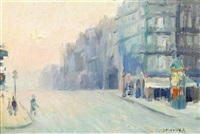 cherbourg, france, paris i, and paris (three works) by francesco j. spicuzza